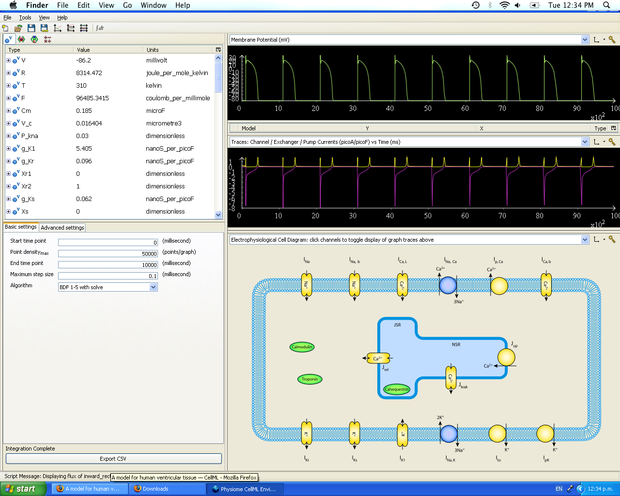 Simulation in PCEnv