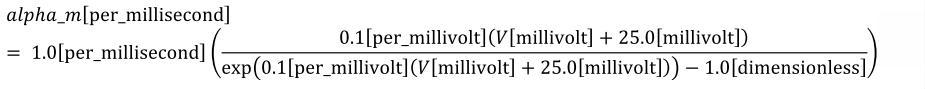 Equation: hh_alpha_m_units